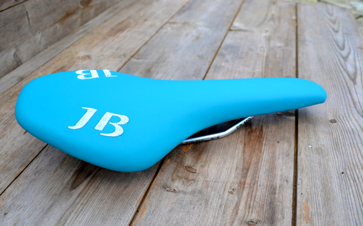 Beautiful Bespoke Blue Saddle