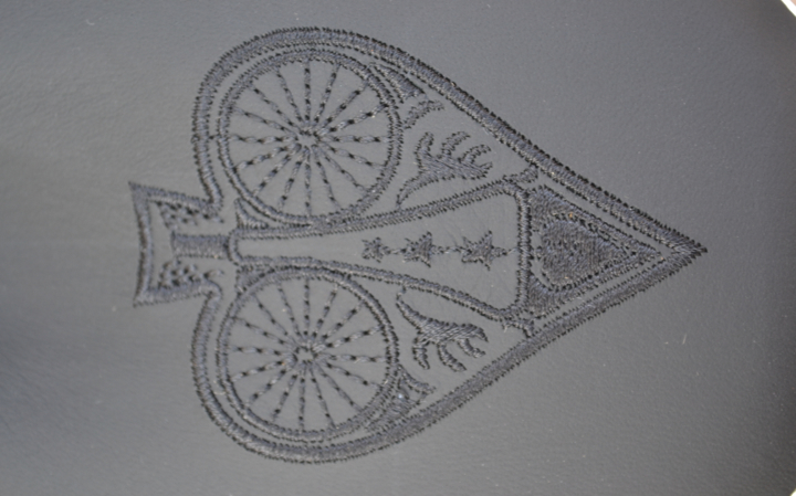 Bespoke Saddle Embroidery